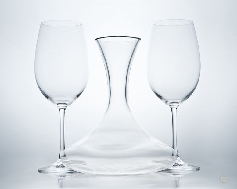 Glas concept product beauty photography tabletop