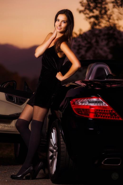 car-and-model-portrait-waging-am-see