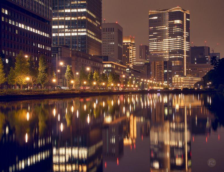 Marunouchi, Tokyo by night – by René Sputh